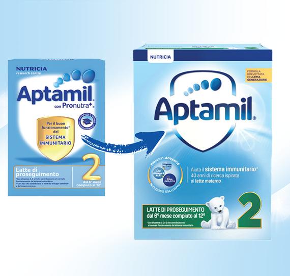 Aptamil presenta la sua nuova formula